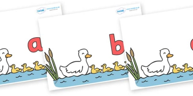 Phase 2 Phonemes on Five Little Ducks - Phonemes, phoneme, Phase 2, Phase two, Foundation, Literacy, Letters and Sounds, DfES, display