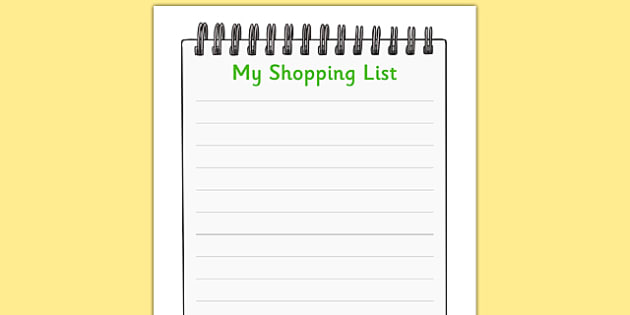 Farm Shop Role Play Shopping Lists  Farm Shop Role Play Role