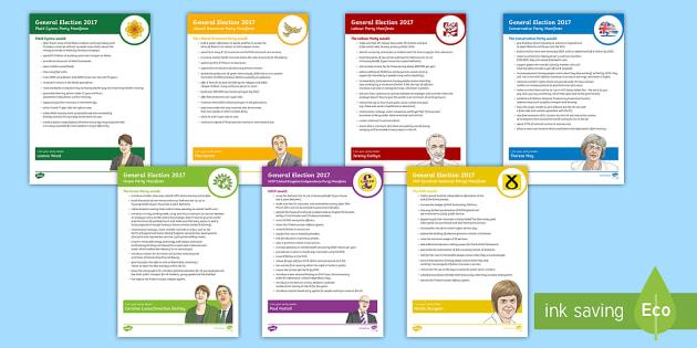 Manifesto Image: General Election 2017 Child Friendly Party Manifesto Guide
