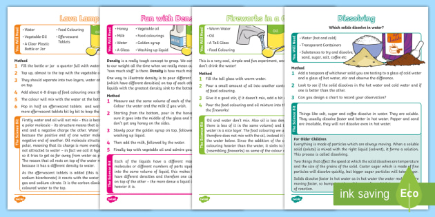 FREE! - Science Experiments At Home - science, experiments