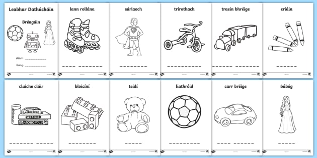 the late late toy show colouring pages gaeilge gaeilge irish toys bragin