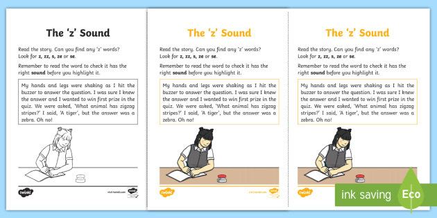 Northern Ireland Linguistic Phonics Stage 5 and 6 Phase 3b, 'z' Sound Activity Sheet - Linguistic Phonics, Stage 5, Stage 6, Phase 3b, Northern Ireland, Worksheet, 'z' sound, sound se
