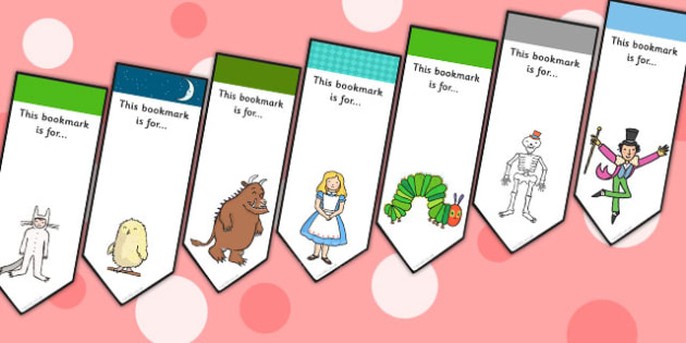 Mixed Storybook Bookmarks - stories, story books, books, reading