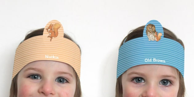 The Tale of Squirrel Nutkin Role Play Headband - squirrel nutkin, role-play