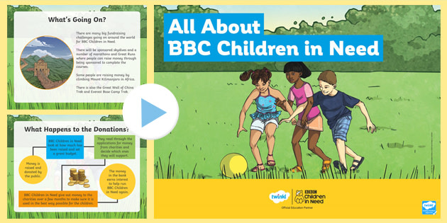 All About BBC Children in Need PowerPoint
