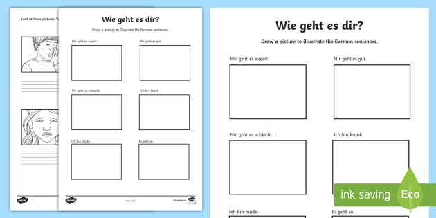 how are you german phrases worksheet worksheet basic phrases german. Black Bedroom Furniture Sets. Home Design Ideas