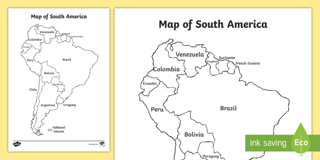 south america map activity South American Map Activity Teacher Made