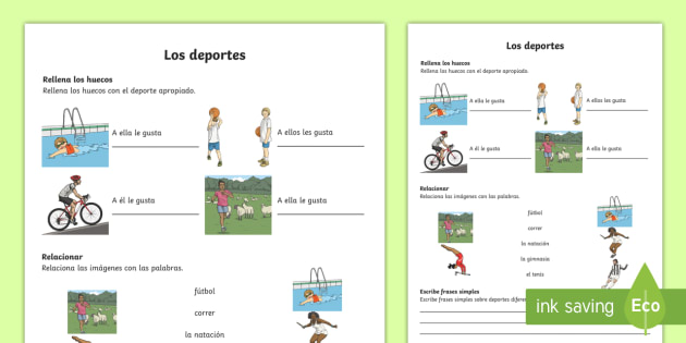 sports worksheet worksheet spanish ks2 vocabulary activity sheet. Black Bedroom Furniture Sets. Home Design Ideas