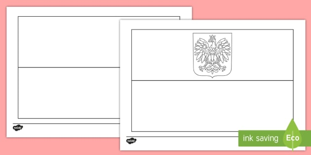 - Polish Flag Coloring Page (teacher Made)