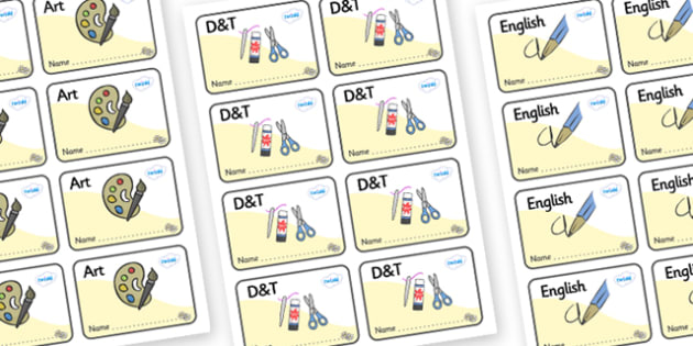 Daisy Themed Editable Book Labels - Themed Book label, label, subject labels, exercise book, workbook labels, textbook labels