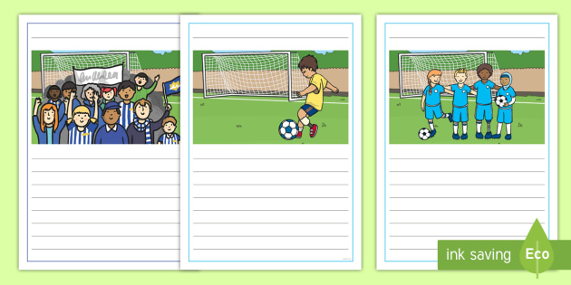 NEW * Football Writing Frames - FA Cup, champions league