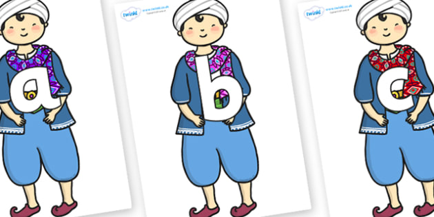 Phoneme Set on Rich Aladdin - Phoneme set, phonemes, phoneme, Letters and Sounds, DfES, display, Phase 1, Phase 2, Phase 3, Phase 5, Foundation, Literacy