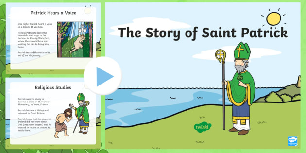 roi the life of saint patrick powerpoint - roi , st. patrick's, Powerpoint templates
