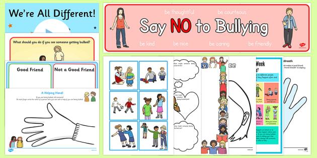 KS1 Anti Bullying Week 2016 Resource Pack - Anti-bullying- anti bullying week, bullying, friendship, relationships