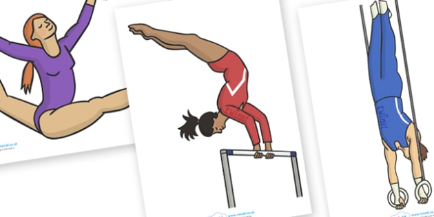 The Olympics Editable Images Gymnastics - Gymnastics, Olympics, Olympic Games, sports, Olympic, London, images, editable, event, picture, 2012, activity, Olympic torch, medal, Olympic Rings, mascots, flame, compete, events, tennis, athlete, swimming