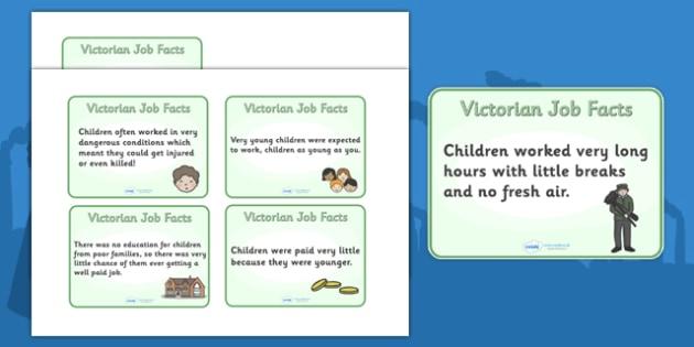 The Victorians Types of Jobs for Children Flash Cards - Victorians, Queen Victoria, 19th century, British History, Britain, Victorian toys, Victorian school, butler