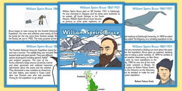 William Speirs Sequencing Cards - william speirs bruce, sequencing cards, cards