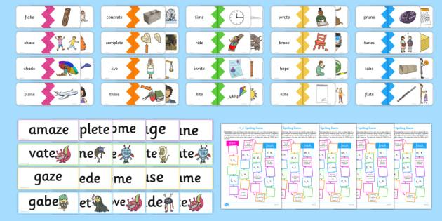 Magic E Split Diagraph Resources