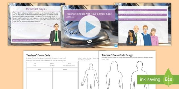 should teachers have a dress code