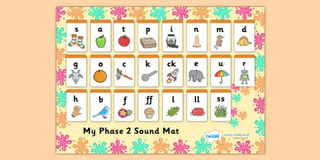 Splat Themed Phase Sound Mat - splat, phase, phase 2, sound mat