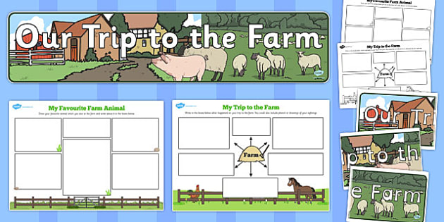 On the Farm Post Visit Pack - on the farm post-visit, pack, farm