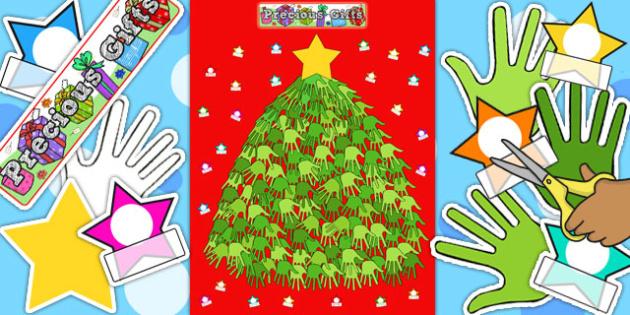 Ready-Made Christmas Tree Display Pack - ready made, display