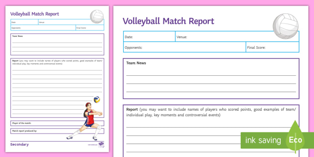 volleyball worksheets for physical education resultinfos. Black Bedroom Furniture Sets. Home Design Ideas