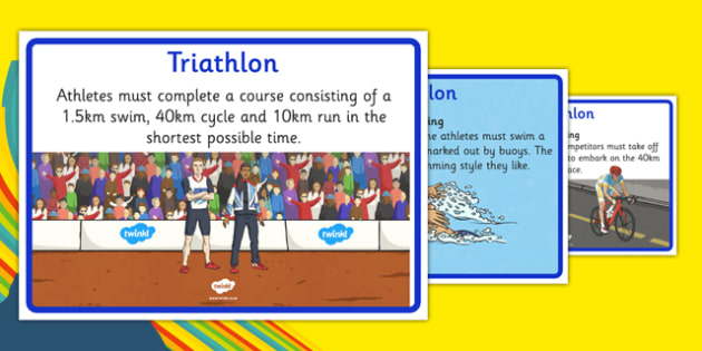 Rio 2016 Olympics Triathlon Display Facts - rio 2016, rio olympics, 2016 olympics, triathlon, display facts