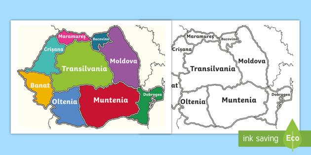 Construiește Harta României Puzzle Cu Diferite Dimensiuni