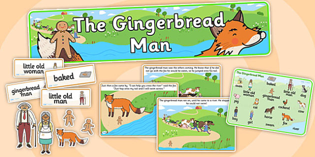 The gingerbread man story sack story sack story books story the gingerbread man story sack story sack story books story book sack maxwellsz