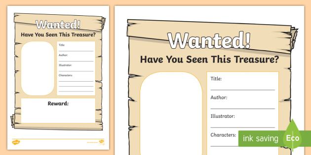 Book Week 2018 Wanted Poster Worksheet CBCA Find Your