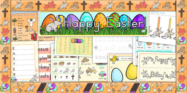 Easter Resource Pack - easter, religion, RE, easter activities