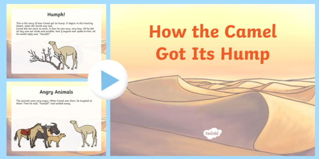How the Camel Got Its Hump Story PowerPoint