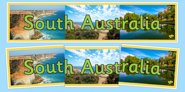 South Australia Display Banner - States and Territories, SA, South Australia, display