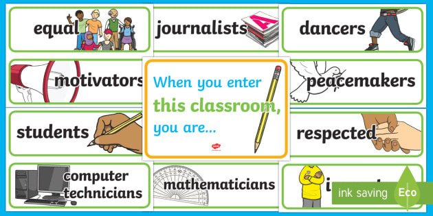 When you enter this classroom Display Pack - New Zealand, Back to School, inspiration, motivation, PSHE
