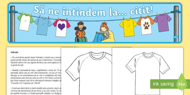Să ne întindem... la citit Activitate-Romanian