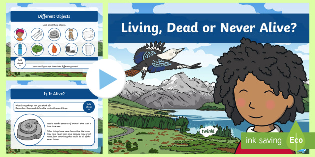 Ks1 Alive Dead Or Never Alive Powerpoint Teacher Made