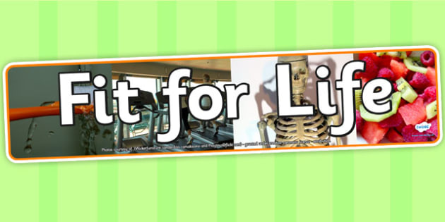 Fit for Life Photo Display Banner - fit for life, IPC display banner, IPC, fit for life display banner, IPC display, fit for life IPC banner