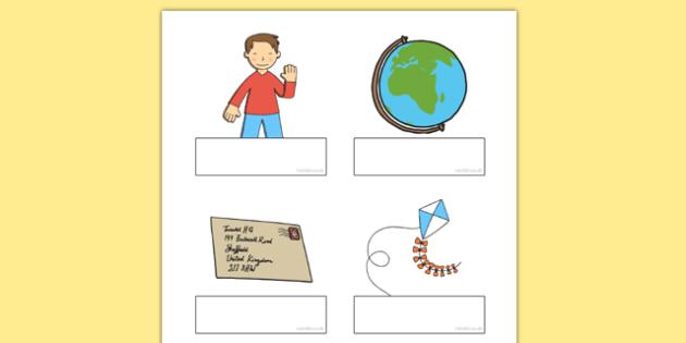 Flat Boy Editable Self Registration - flat boy, flat stanley, jeff brown, self-registration