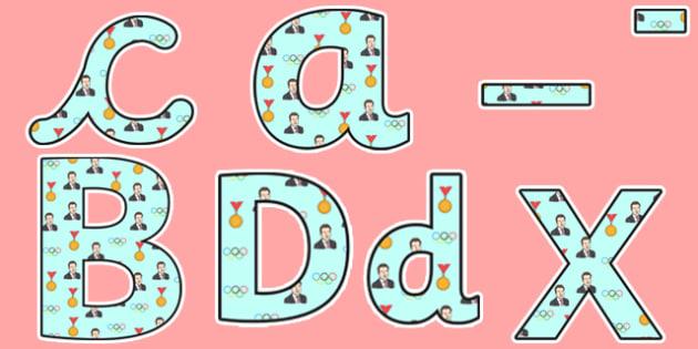 Sebastian Coe Themed Display Lettering - sebastian coe, display lettering, themed lettering, classroom lettering, lettering, lettering, letter display