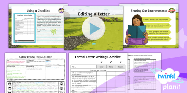 PlanIt Y4 Traditional Tales: The Three Billy Goats Gruff Lesson Pack Letter Writing (4)