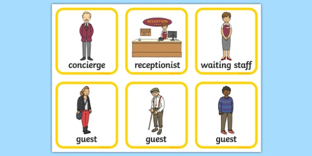 Hotel Role Play Badges - hotel, role play, activity, badges, roleplay