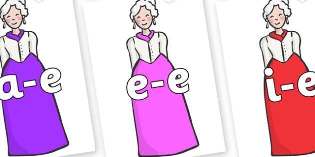 Modifying E Letters on Dames - Modifying E, letters, modify, Phase 5, Phase five, alternative spellings for phonemes, DfES letters and Sounds