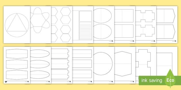 Faltformen In Der Grundschule Lapbook Vorlagen
