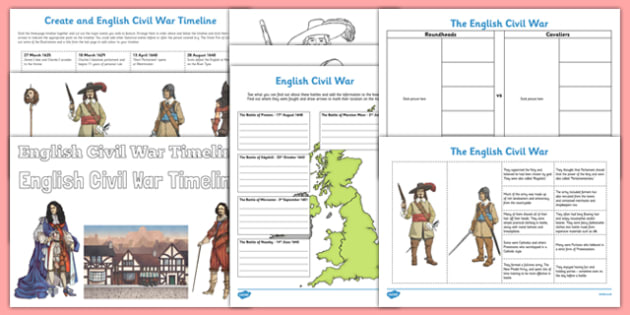 English Civil War Pack - english, civil war, pack, resources, english civil war