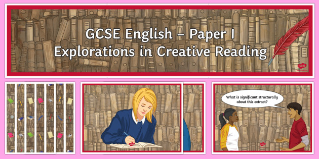 AQA P1 Reading Booklet Display Pack