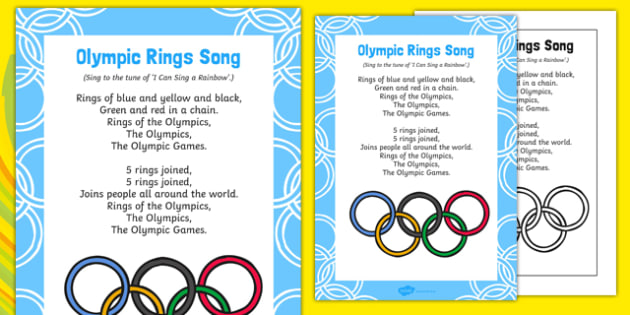 Olympic Rings Song