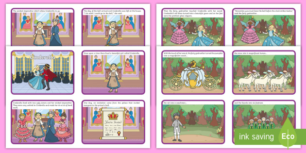 photo regarding Story Sequencing Cards Printable identified as Cinderella Tale Sequencing - cinderella, cinderella tale