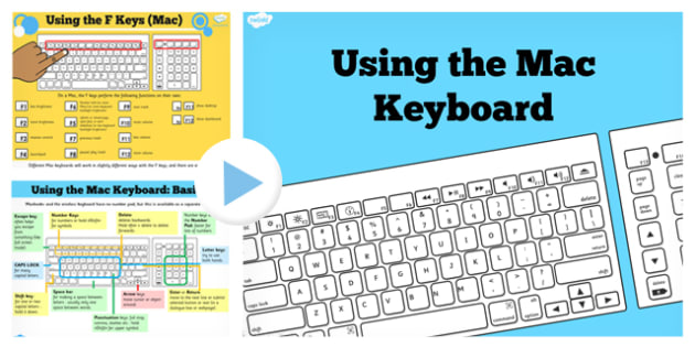 Using the Mac Keyboard Help PowerPoint - ICT, IT, computing
