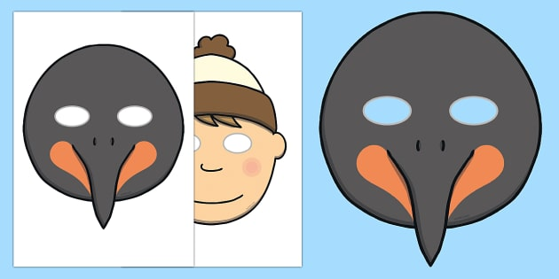 Role Play Masks to Support Teaching on Lost and Found - role play, props, mask, lost